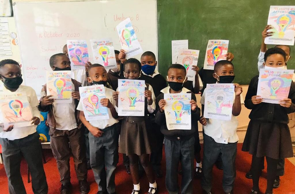 South Africa joins the global #LightsOnAfterschool movement