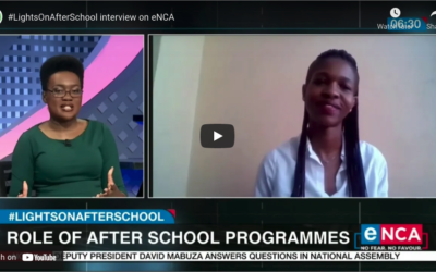#LightsOnAfterSchool Interview on eNCA